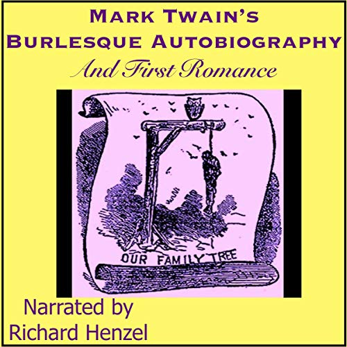 『Mark Twain's (Burlesque) Autobiography and First Romance』のカバーアート