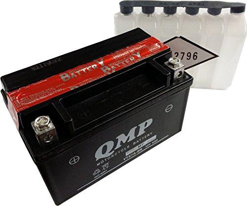 Batterie für KYMCO 50ccm Super 8 Baujahr 2009-2013 (YTX7A-BS)