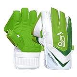 KOOKABURRA Unisex's W/K 2020 LC 3.0 Wicket Keeping Gloves (Adult), White