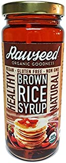 Rawseed Organic Brown Rice Syrup 1 Pack 16 oz