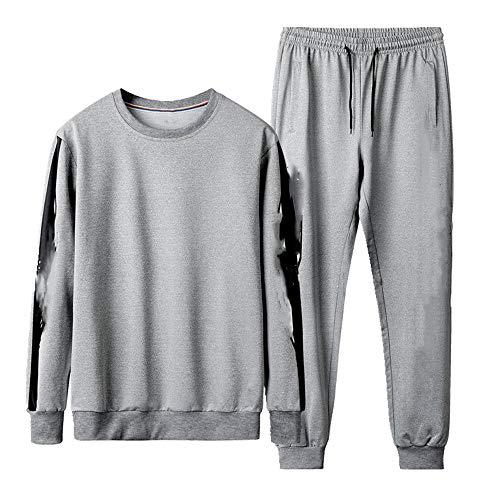 N\P Grandes ropa deportiva de los hombres primavera otoño casual suéter de los hombres de los hombres