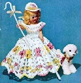 LITTLE BO-PEEP DOLL - A Vintage 1951 Crochet Pattern Download