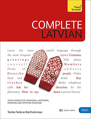 Compare Textbook Prices for Complete Latvian Teach Yourself 1 Edition ISBN 9781529325027 by Svilane, Tereza