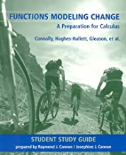 Functions Modeling Change: A Preparation for Calculus Student Study Guide