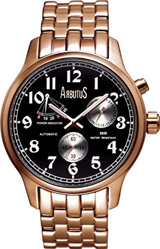 Arbutus New York Apexon AR0089BSR - Orologio automatico da uomo
