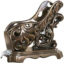 QXM hars Europese stijl oude wijnrek aangepast hol geometrisch koud gieten koper ambachten ornamenten