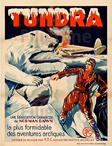 PostersAndCo TM Toundra - Lámina decorativa de 80 x 110 cm, papel de 90 x 120 cm, D1