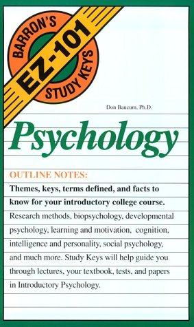 Psychology (EZ-101 Study Keys)