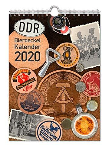 Bierdeckelkalender DDR 2020: Historische Bierdeckel aus der DDR (Bierdeckel- und Bieretikettenkalender / DDR/BRD)