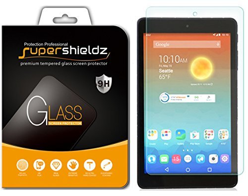 Supershieldz for AT&T Trek HD (Not Fit for Trek 2 HD) Tempered Glass Screen Protector, Anti Scratch, Bubble Free