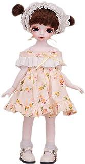 Fujinfeng BJD Muñecas 1/6, SD muñeca de Bolitas Articulado Muñecas para niñas Colección de muñecas de Moda Regalos