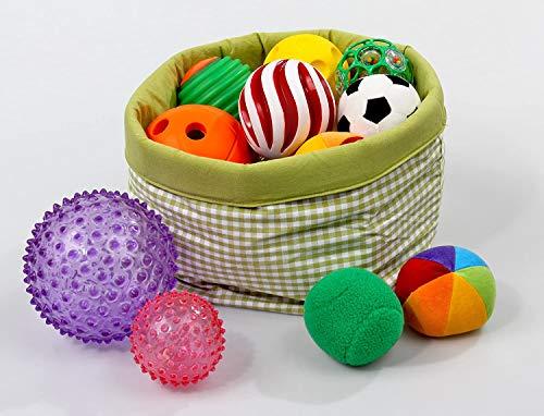VintageⅢ 12pcs Baby Infant Sensory Balls Structured Multi Ball Set Massage Soft Ball