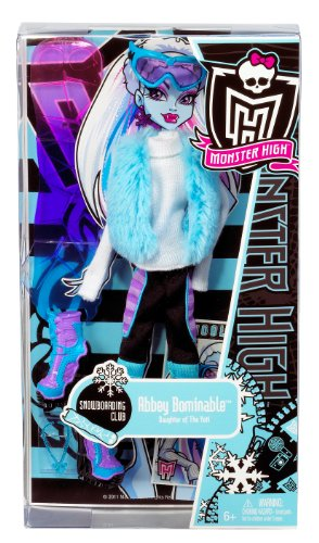 Monster High - W2554 - Accessoire - Habillage Club Abbey Bominable