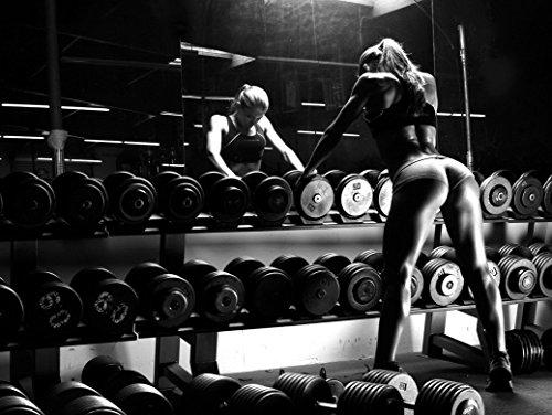 NewBrightBase Bodybuilding Fitness Motivation Motivational Fabric...