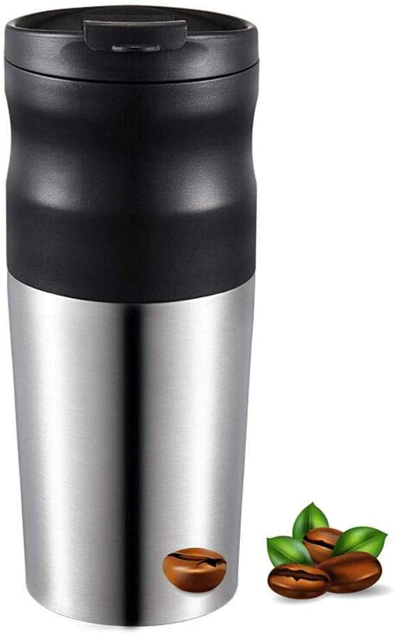 Be super welcome SH-CHEN Sandpaper Max 80% OFF Coffee Grinder Machine Portable Travel