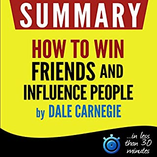 "Summary of ""How to win friends and influence people"" cover art"