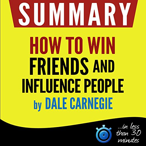 """Summary of """"How to win friends and influence people"""" cover art"""