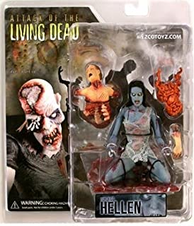 Attack Of The Living Dead Series 1 Hellen (Blue Skin With Open Mouth) Action Figure