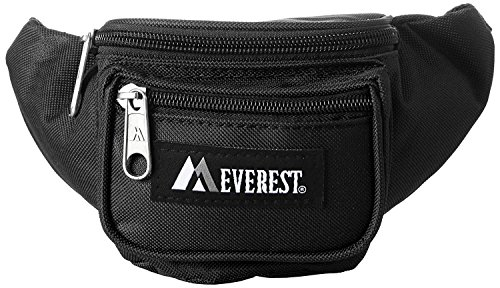 Everest Unisex Extra Small Fanny Waist Pack (Black)