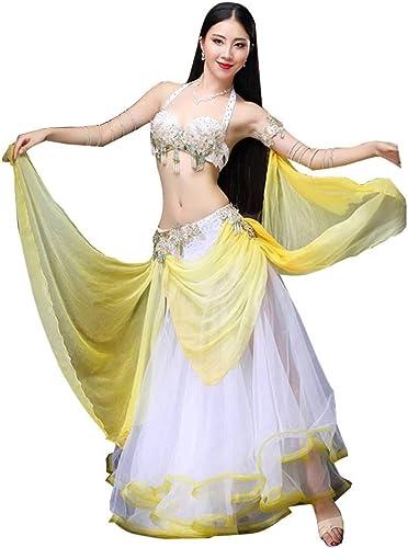 tienda en linea JR RJ Vestidos Dirndl Disfraz de Danza del del del Vientre Moderno para mujer, Disfraz de Baile Sexy para Adultos (Color   amarillo, Talla   M)  El nuevo outlet de marcas online.