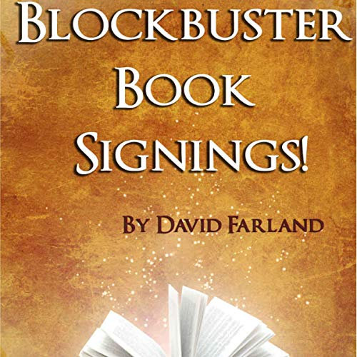Blockbuster Book Signings! cover art