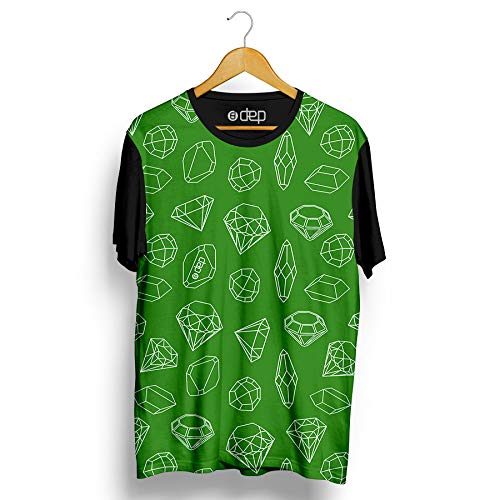 Camiseta Dep Pedras Preciosas Verde (P)