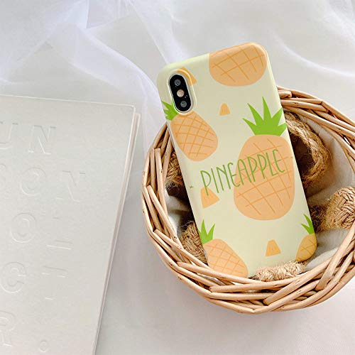 WotheCase - Funda y carcasa para iPhone 7 8 7 8Plus X XS XR XS Max, funda para teléfono, letra piña 3D'Imd, ultra fina, de TPU, funda suave antiarañazos As shown for iPhone 7plus 5.5(Inch)