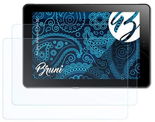 Bruni Schutzfolie kompatibel mit Odys Windesk 9 Plus 3G Folie, glasklare Bildschirmschutzfolie (2X)