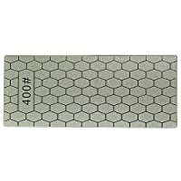 Szblk 砥石、ダイヤモンド砥石ナイフ削り超薄型ハニカム表面砥石キッチン砥石ツールセット (サイズ : 400#)