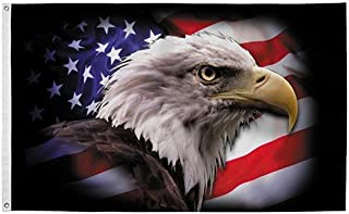 PermaNyl 3' x 5' America Strong Eagle by Valley Forge Flag