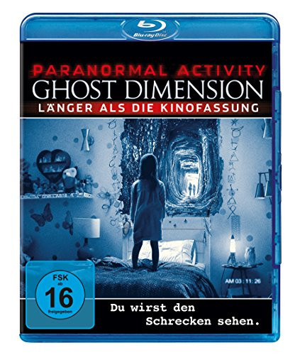 Paranormal Activity - The Ghost Dimension - Extended Version [Blu-ray]