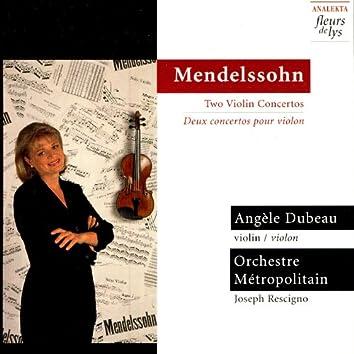 Mendelssohn: Two Violin Concertos