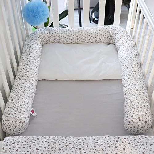 Babymajawelt® Tour de lit pour lit bébé 210 cm Sterntaler