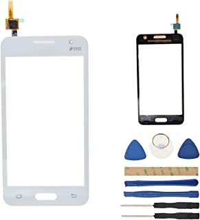 White SM-G355H Digitizer Screen Replacement Compatible with Samsung Galaxy Core II SM-G355M SM-G355HN