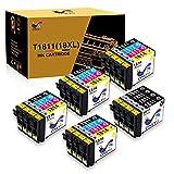 ONLYU 20 Pack Compatible pour Epson 18XL T1811-T1814 Compatible pour Epson Expression...