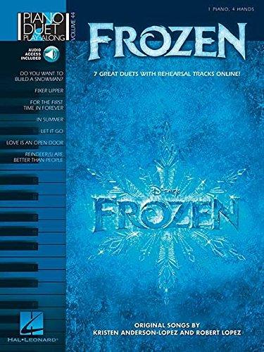 Piano Duet Play Along Volume 44: Frozen: Noten für Klavier