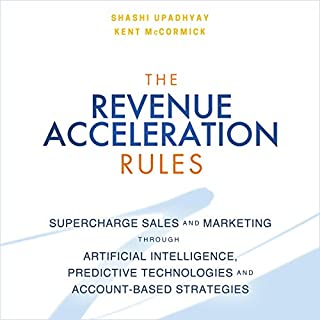 The Revenue Acceleration Rules audiobook cover art