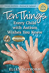 Celebrate Autism Day ;Ten Things- Book about Autism