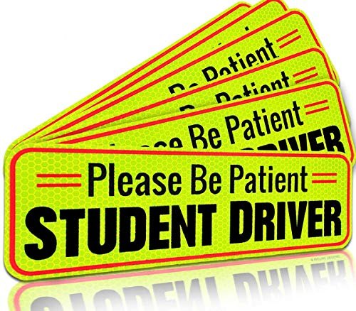 Student Driver Magnet Car Signs for The Novice or Beginner. Better Than A...