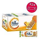 FITNESS Peach & Apricot Barrette di Cereali con Albicocche e Pesche, 24 Pezzi...