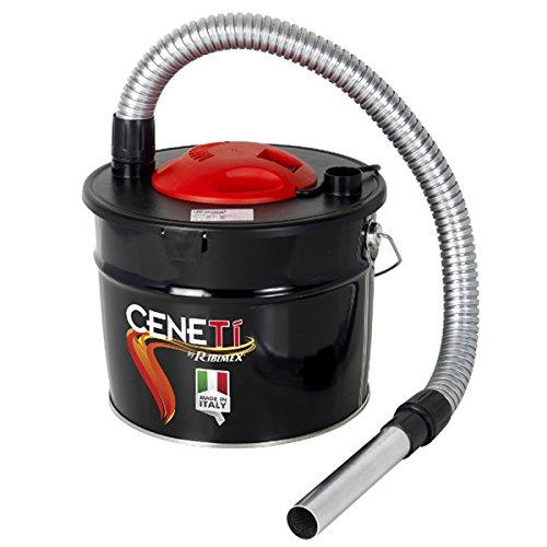 Ribimex PRCEN009 Aspiracenere Elettrico Ceneti 800 W 15 L, 230 V