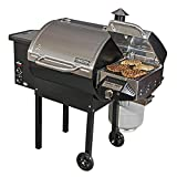 Camp Chef SmokePro DLX PG24B Pellet Grill (Bronze) with Sear Box - Bundle (Stainless Steel)