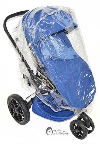 Regenschutz Kompatibel mit Bebe 9Cobra Kinderwagen
