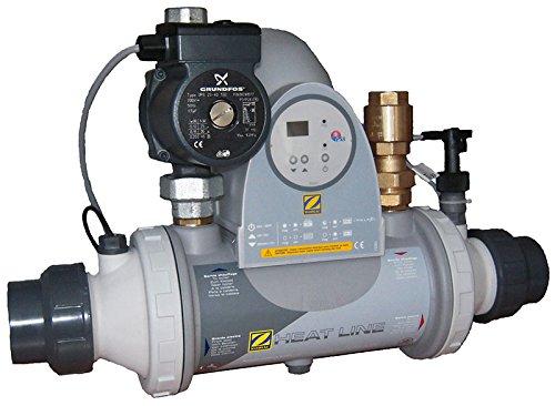 PSA - heat line plus 40 - Echangeur thermique 40kw multitubulaire