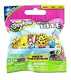 Shopkins Micro Lite Series 1 LED Light Up Toy Mini Figure Mystery Pack - 1 Package (Includes 1 Random Figure Total. May Be: Chee Zee, Molly Mops, Dum Mee Mee, Juicy Orange, Poppy Corn, Kookie Cookie.)