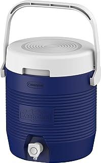 مبرد مياه معزول بالبلاستيك لحفظ الماء من كوزموبلاست MFKCXX011BL – صغير، سعة 6 لتر، أزرق