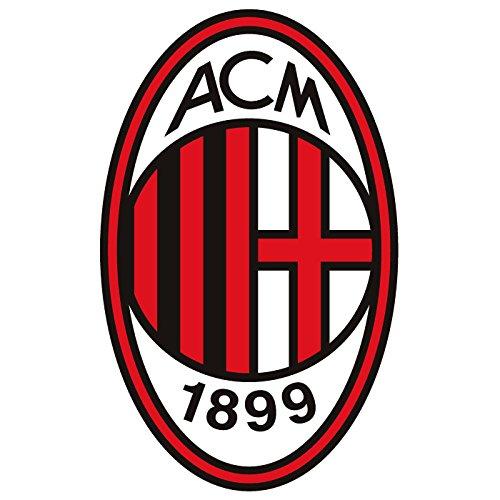 Cialda In Ostia Scudetto Milan Calcio Torta Decorazioni Dischi Commestibile