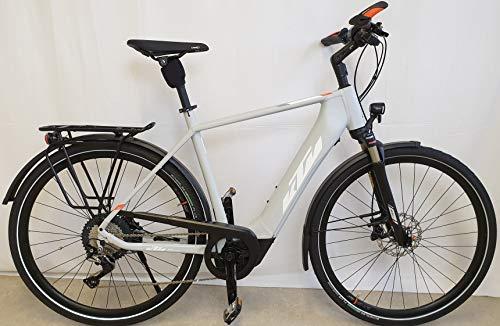 """KTM Macina Style 620 Bosch Trekking Elektro Fahrrad 2020 (28\"""" Herren Diamant 56cm, Lightgrey Matt/White/Orange (Herren))"""