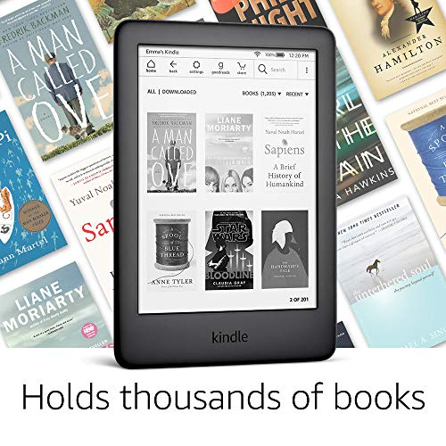 All-new Kindle - Now with a Built-in Front Light - Black - Includes Special Offers 1
