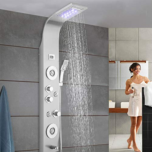 Panel de Ducha LED,Columna de...